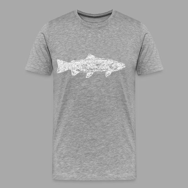 Line trout white