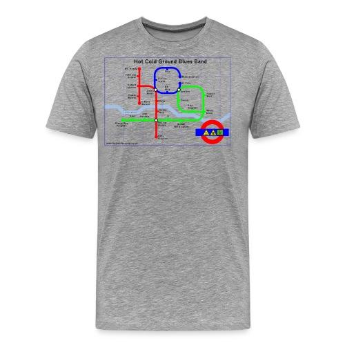tubemap - Men's Premium T-Shirt