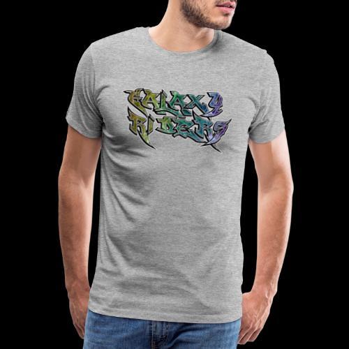 Galaxy Riders Biker Riding Motorcycle - Männer Premium T-Shirt