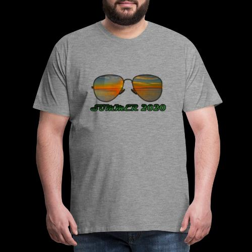 Summer 2020 Beach Vacation Sunglasses - Männer Premium T-Shirt
