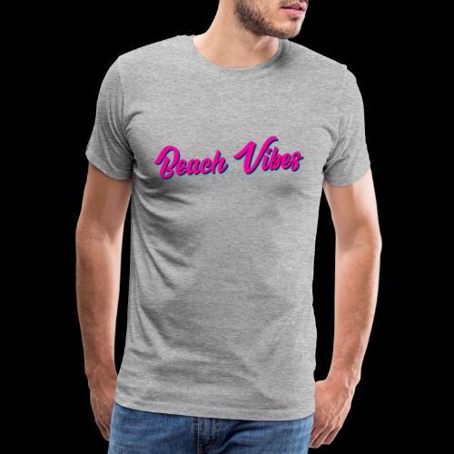 Beach Vibes - Männer Premium T-Shirt