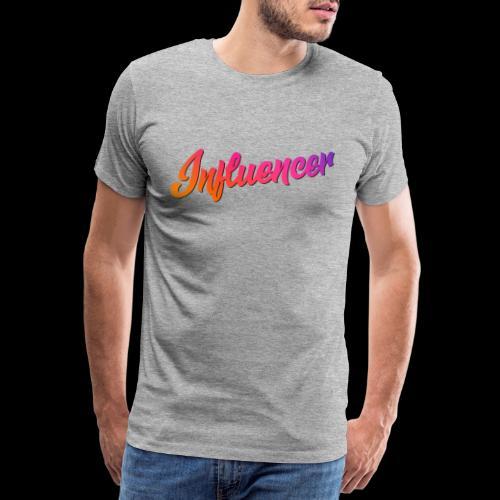 Influencer Instagram Youtube Youtuber - Männer Premium T-Shirt