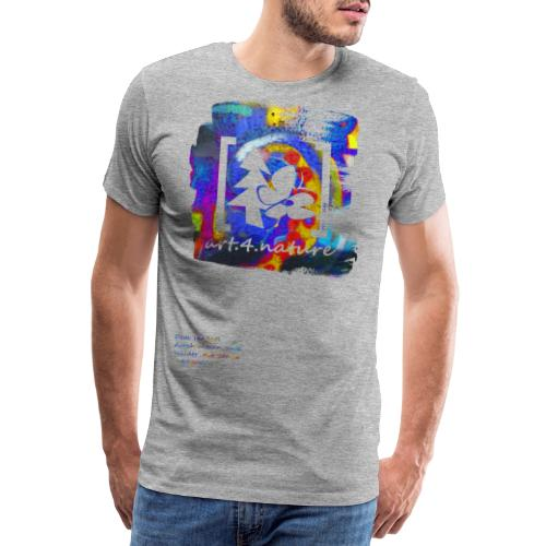 #art.4.nature / blau - Männer Premium T-Shirt