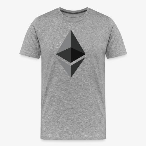 Ethereum - Mannen Premium T-shirt