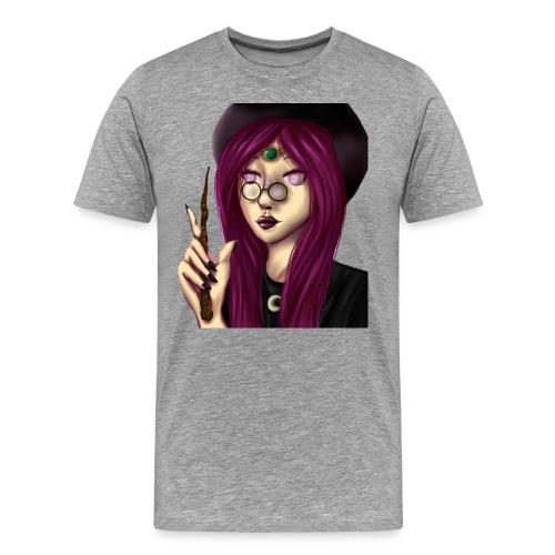 Sorcière violette - T-shirt Premium Homme