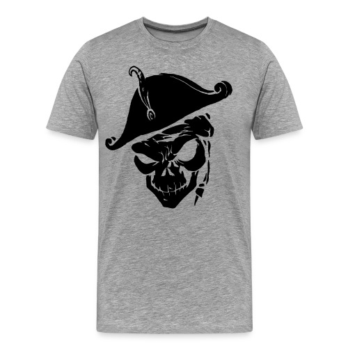 pirate skull - Mannen Premium T-shirt