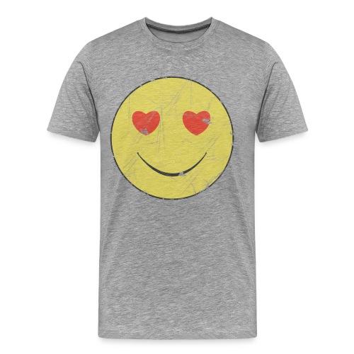 Face in love - Men's Premium T-Shirt