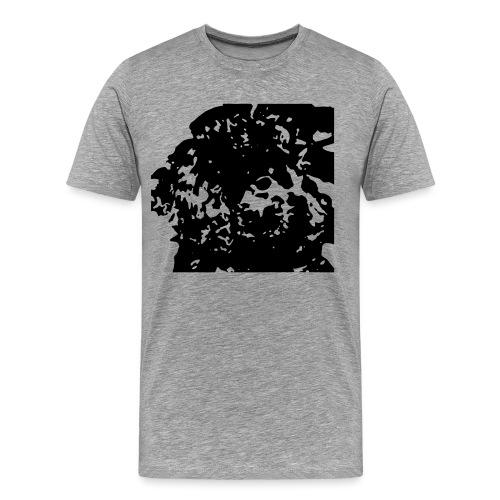 Doodlewelpe - Männer Premium T-Shirt