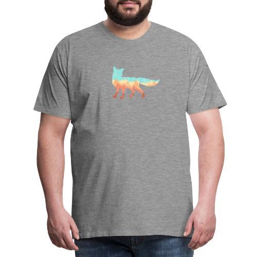 Mountain Fox - T-shirt Premium Homme