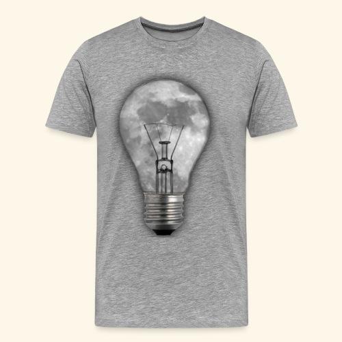 moon bulb - Camiseta premium hombre