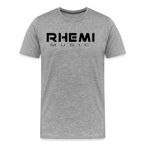 Classic Rhemi Logo Black - Men's Premium T-Shirt