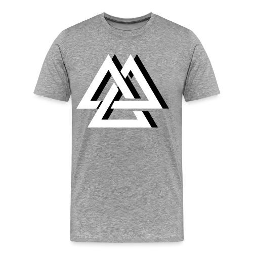 Un effet de trois Triangle - T-shirt Premium Homme