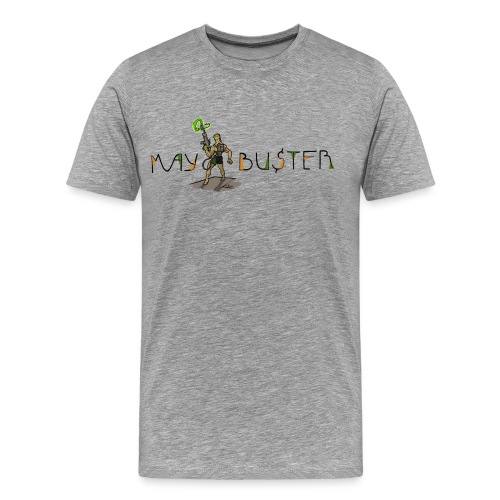 Maybuster Logo LS png - T-shirt Premium Homme