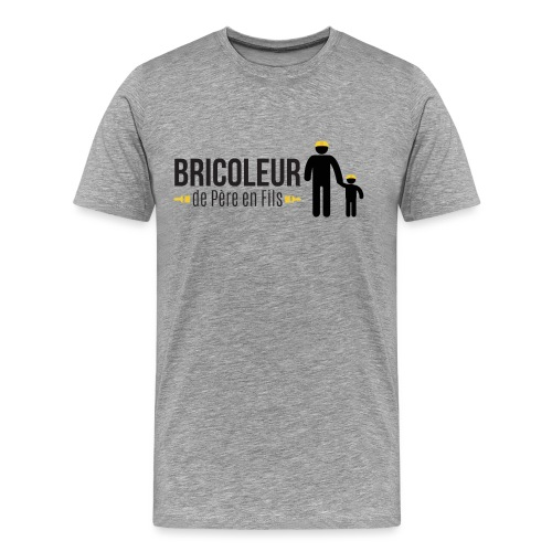BRICOLEUR DE PERE EN FILS - T-shirt Premium Homme
