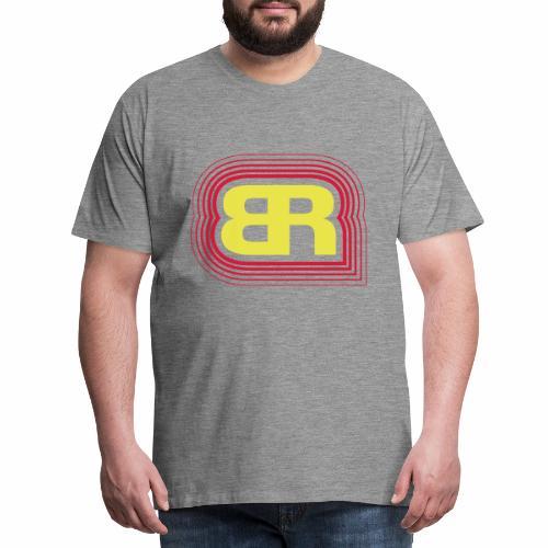 Logo Rot/Gelb - Männer Premium T-Shirt