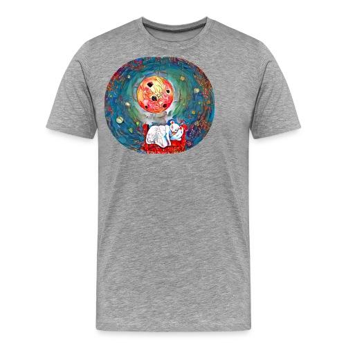 raton con suen o - Camiseta premium hombre