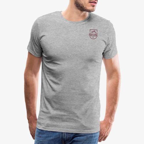 Neulich bei Nature - Bordeaux - Männer Premium T-Shirt