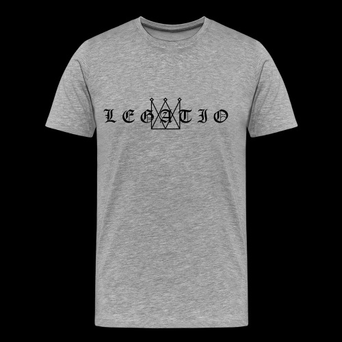 Legatio Fraktur - Men's Premium T-Shirt