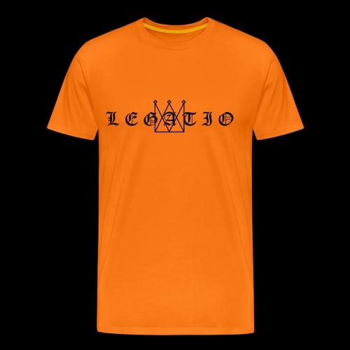 Legatio Fraktur - Men's Premium T-Shirt