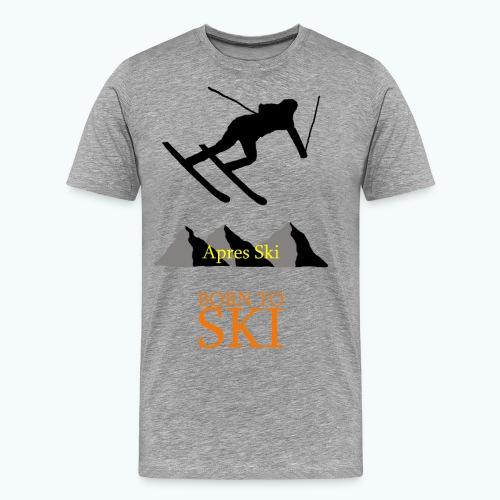 Schishirt - Männer Premium T-Shirt