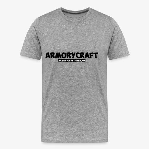 ArmoryCraft- Mannen korte mouw - Mannen Premium T-shirt