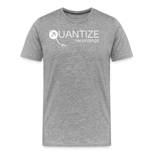 Quantize White Logo - Men's Premium T-Shirt