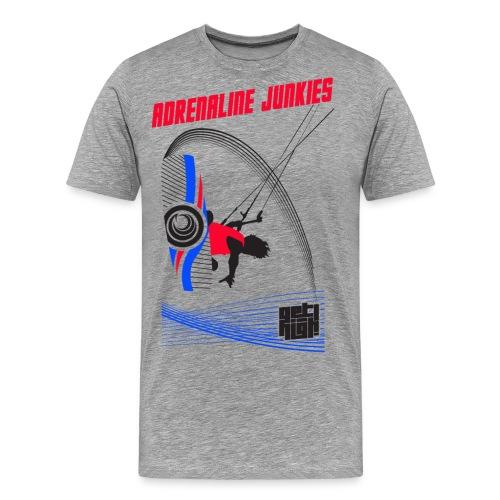Adrenaline Junkies Light - Camiseta premium hombre