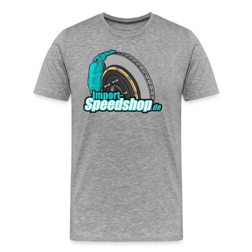 BigBrake Front - Männer Premium T-Shirt
