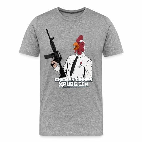 XPuBG Winner winner chicken dinner! - Men's Premium T-Shirt