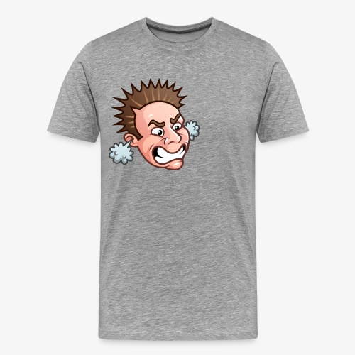 JordanBelfort87 Rage Emoji - Männer Premium T-Shirt