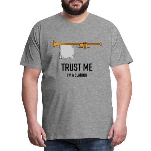 Trust me clarion - Maglietta Premium da uomo