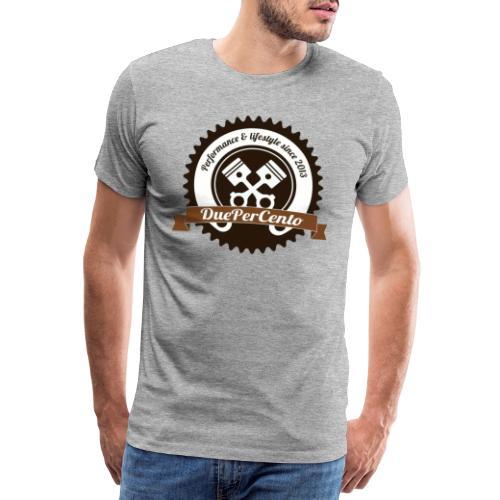 DuePerCento Logo Color - Maglietta Premium da uomo