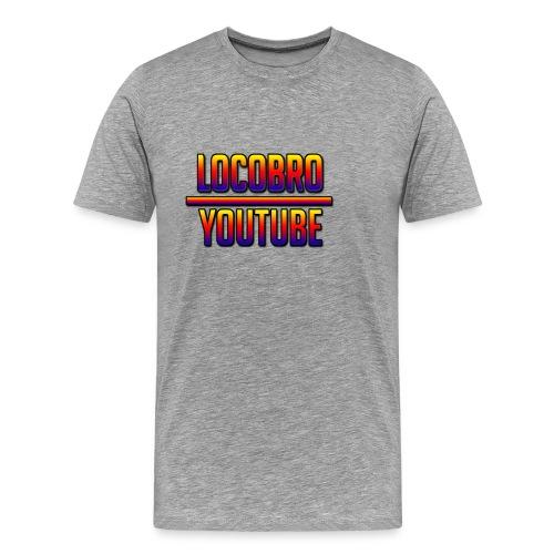 LoCoBrO youtube - Men's Premium T-Shirt