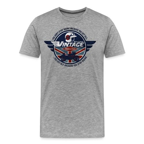 Kabes Vintage Riders Club - Men's Premium T-Shirt