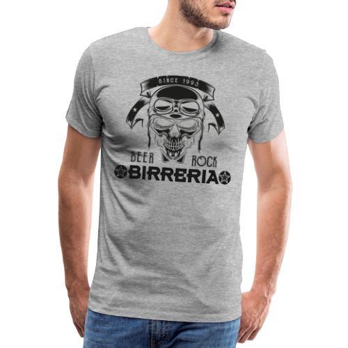 Classic Birreria Rock Skull - Männer Premium T-Shirt