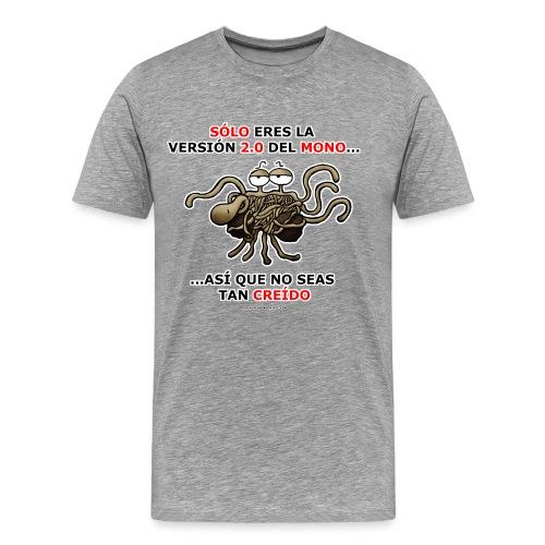 Camiseta hombre versión 2.0 del mono - Camiseta premium hombre