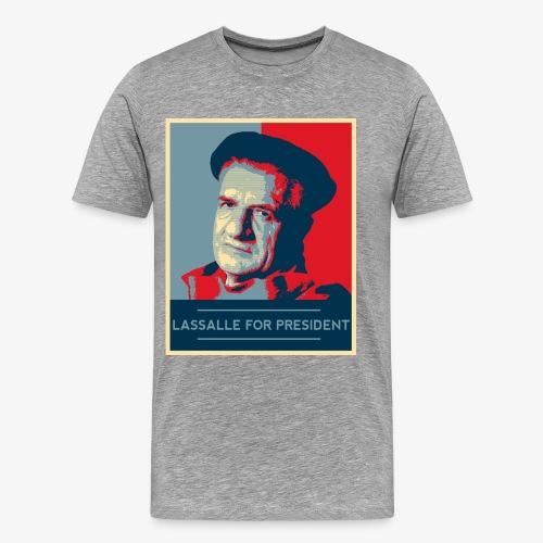 Lassalle-Obama For President - T-shirt Premium Homme