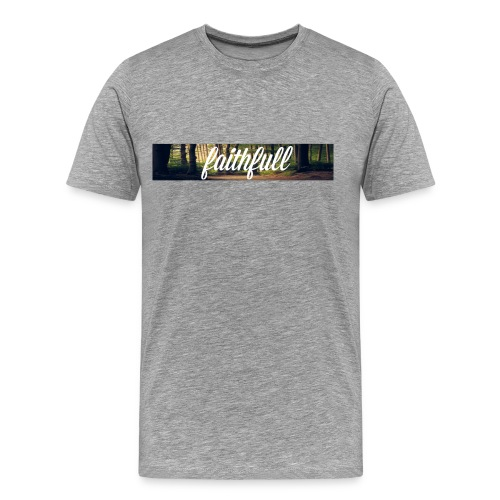 faithfullt-shirt trees - Mannen Premium T-shirt