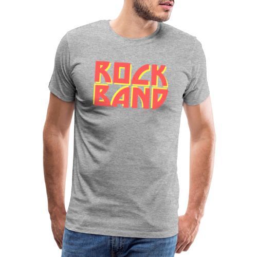 Rock Band - Männer Premium T-Shirt