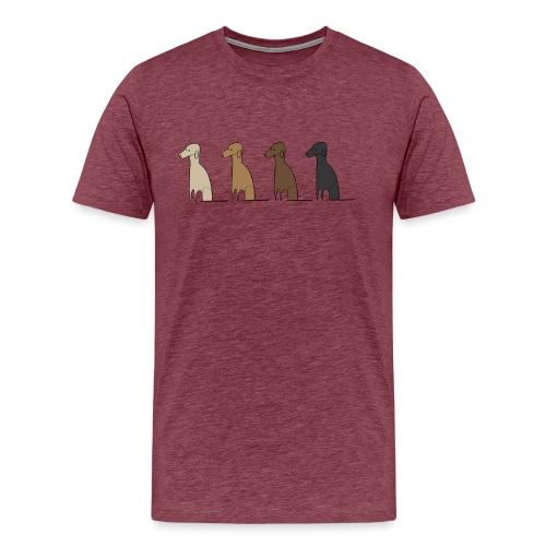 Logo Kusei - Männer Premium T-Shirt