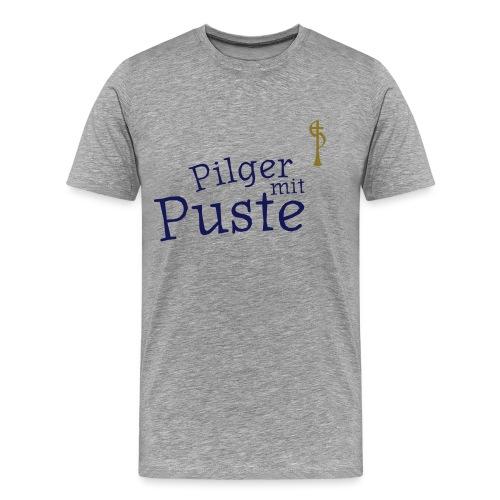 pilger mit puste ohne - Männer Premium T-Shirt