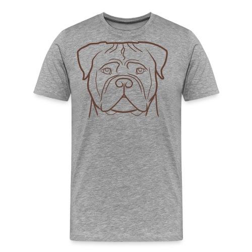 fronte print - Maglietta Premium da uomo