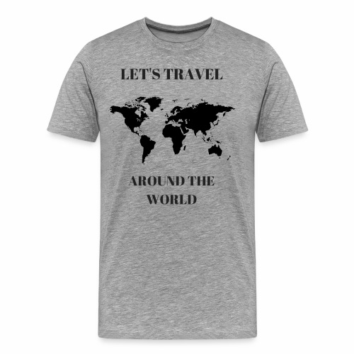 Travel Around The World - T-shirt Premium Homme