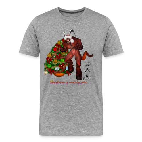 Ho. Ho. ho, la navidad viene pronto - Camiseta premium hombre