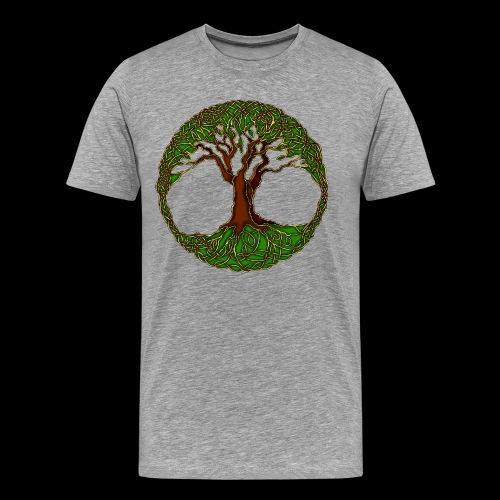 Tree of Life - colour - Men's Premium T-Shirt