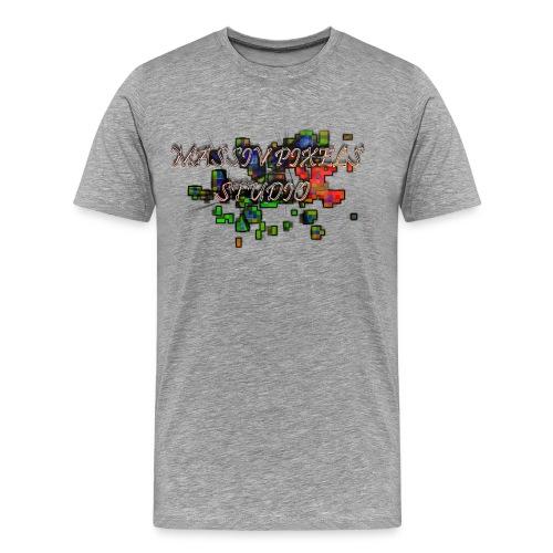 Massiv Pixels Studio - Logo Standard - Männer Premium T-Shirt