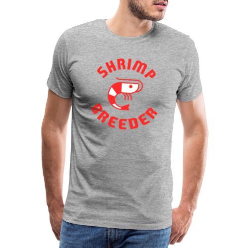 SHRIMP FARMER AQUARIUM CRS RED - T-shirt Premium Homme