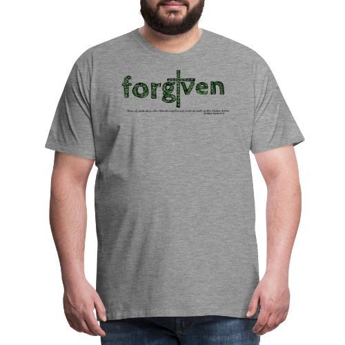 forgiven - Männer Premium T-Shirt