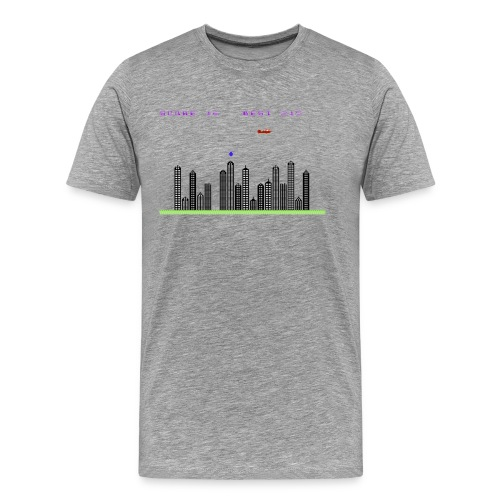 Blitz Screen - Men's Premium T-Shirt