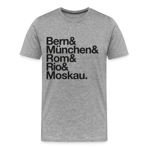 Weltmeister Optimist - Männer Premium T-Shirt
